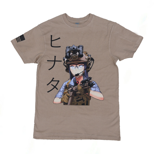 Tactical Hinata T-Shirt - Sand