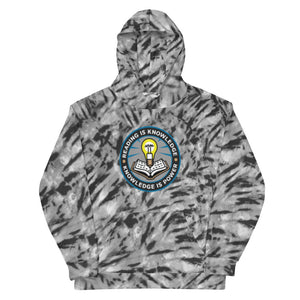 READ Movement - Reading is Knowledge - Men's All Over Print Hooded Sweatshirt