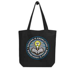 READ Movement - Reading is Knowledge - Eco Tote Bag
