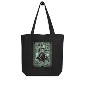 READ Movement - Fortune Favours The Reader - Eco Tote Bag