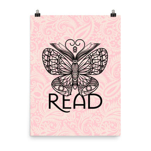 READ Movement - Bookafly - 18 inch x 24 inch Art Print Poster