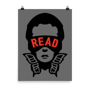 READ Movement - Original Logo - 18 inch x 24 inch Art Print Poster