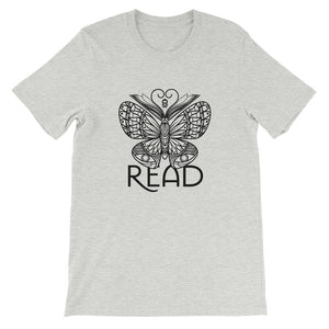 READ Movement - Bookafly - Short-Sleeve Men's T-Shirt