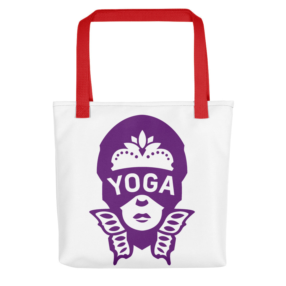 READ Movement - Yoga Crown Purple - Tote Bag