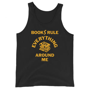 Read Movement - Books Rule - Unisex Tank Top