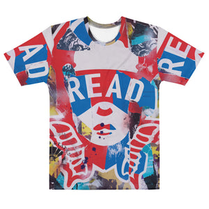 READ Movement - Collage Logo - Men's All Over Print T-Shirt