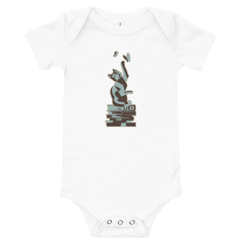 READ Movement - Kitty Fiction - One Piece Baby Jumper