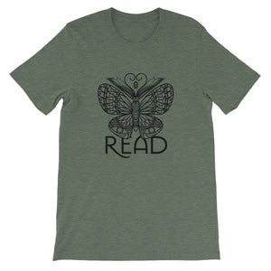 READ Movement - Bookafly - Men's Short Sleeve T-Shirt