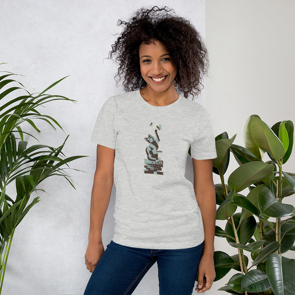 READ Movement - Kitty Fiction - Short Sleeve Unisex T-Shirt