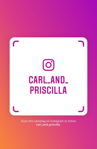 Follow Us on Instagram @Carl_And_Priscilla