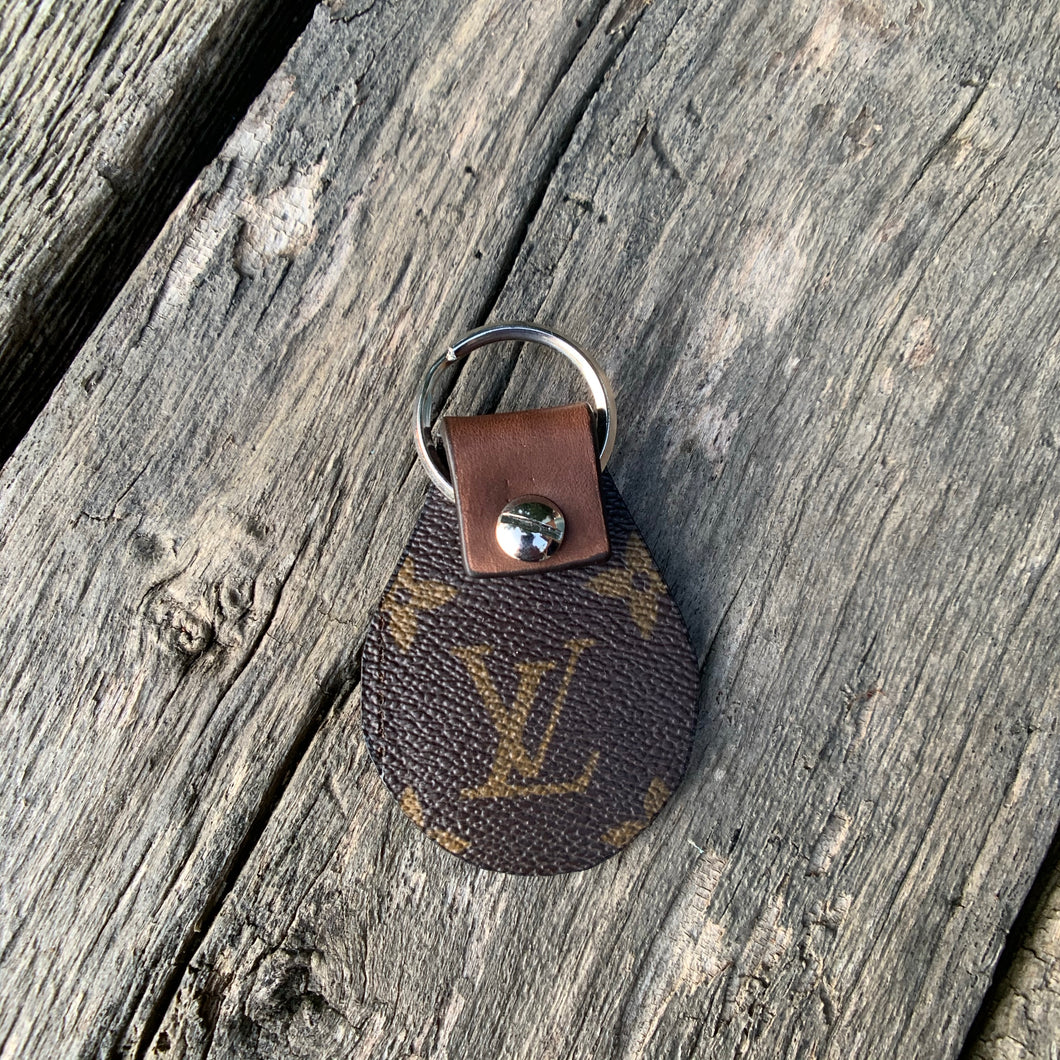 Louise Vintage LV* Canvas Keychain
