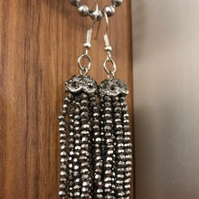 Load image into Gallery viewer, Art Deco Tassel Earrings