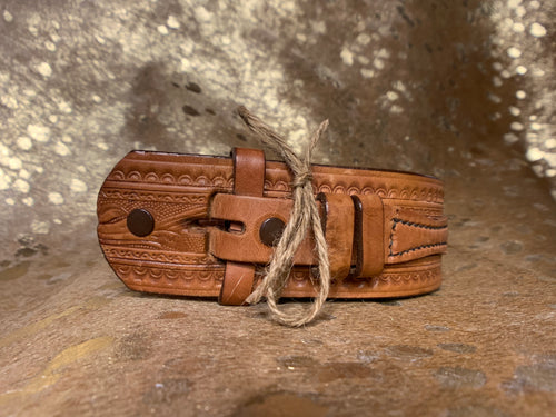 Vintage Handcrafted Snap-Back Belt
