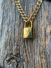 Load image into Gallery viewer, Rockin' Lock Louis Necklace