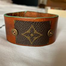 "Load image into Gallery viewer, ""The Warrior"" Leather Cuff"