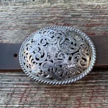 Load image into Gallery viewer, Vintage Floral Belt Buckle