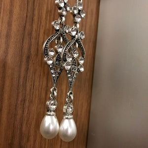 Amazing Art Deco Chandelier Earrings