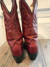 Load image into Gallery viewer, Red Vintage Wrangler Cowboy Boots