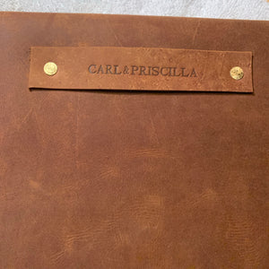 """The Carl"" in Rustic Oil Tanned Leather"