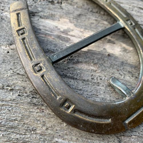 Vintage Horseshoe Belt Buckle