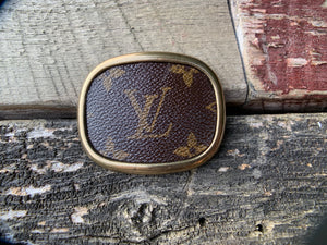 """Louis Longing"" Belt Buckle"