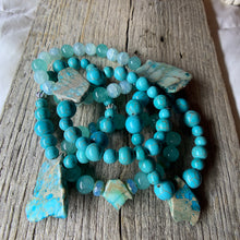 Load image into Gallery viewer, Turquoise Bracelet with Large Stone Accent