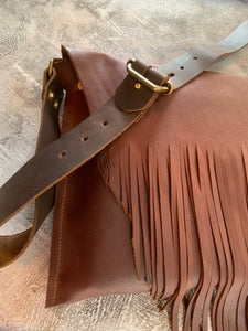 """Canadian Crush"" Fringe Cross-Body Bag"