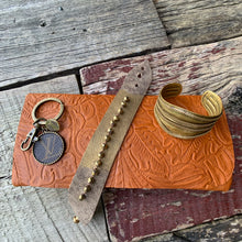 "Load image into Gallery viewer, ""Carly"" Leather Cuff"
