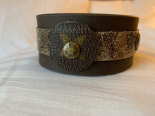 "Load image into Gallery viewer, The ""Lily"" Leather Cuff"