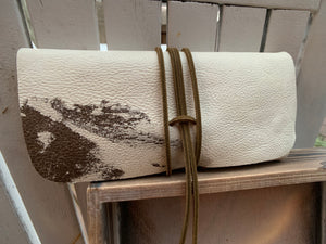"""The Priscilla"" in Vintage Cowhide"