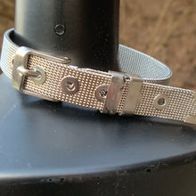 "Load image into Gallery viewer, ""Zelda"" Silver Buckle Bracelet"