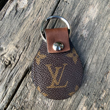 Load image into Gallery viewer, Louise Vintage LV* Canvas Keychain