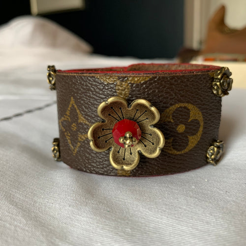 """The Dabney"" Leather Cuff"