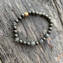 Load image into Gallery viewer, Pyrite Bracelet