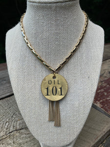 Brass Tag Collection Oil No. 101