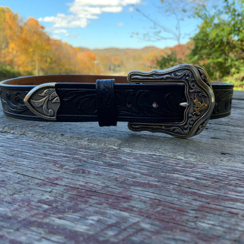 Vintage Tony Lama Leather Belt