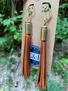 Tassel Bullet Earrings