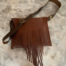 "Load image into Gallery viewer, ""Canadian Crush"" Fringe Cross-Body Bag"