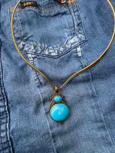 Vintage Western Collar Necklace