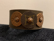 "Load image into Gallery viewer, The ""Trey"" Leather Cuff"