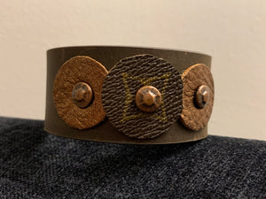 "The ""Trey"" Leather Cuff"