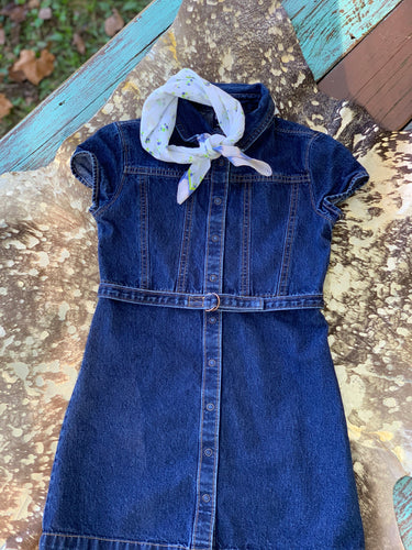 Vintage Girls Gap Denim Dress
