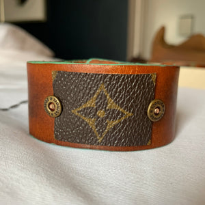"""The Warrior"" Leather Cuff"