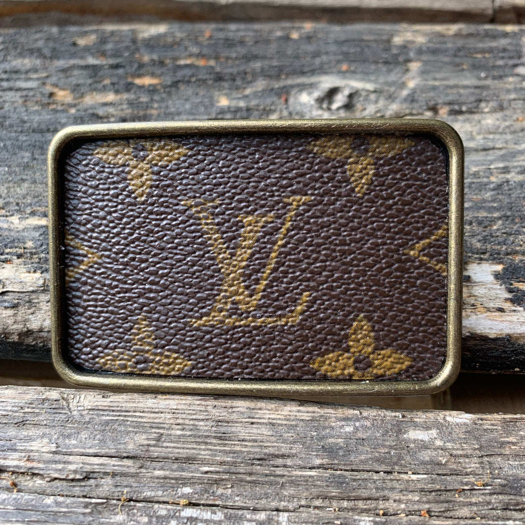 """Louis Lust"" Rectangle Belt Buckle"