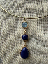 Load image into Gallery viewer, Blue Moon Collar Necklace