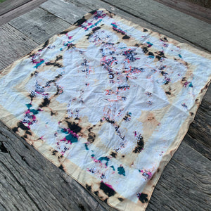 Vintage Distressed Bandanas Neckerchiefs