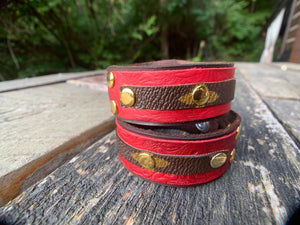 """The Landry"" Leather Cuff"