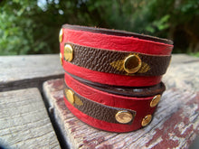 "Load image into Gallery viewer, ""The Landry"" Leather Cuff"