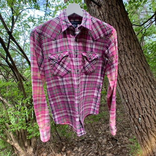 Vintage Ralph Lauren Distressed Flannel