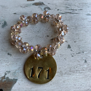 Brass Tag Collection Bracelet #171